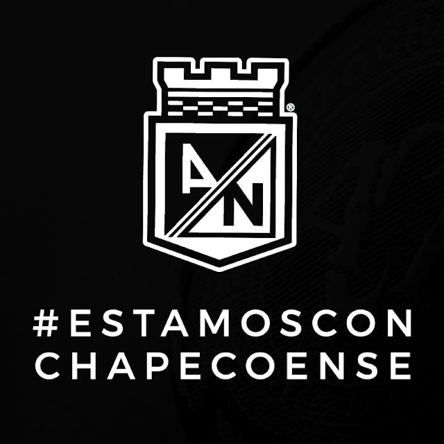Atlético Nacional solicita a Conmebol que o título da Sul-Americana seja entregue ao Chapecoense.