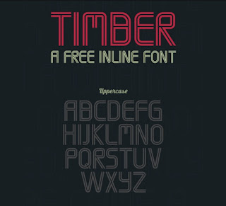 Timber free Font Terbaik Untuk Desain Pakaian Distro