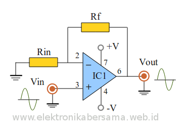 non-inverting-input-opamp