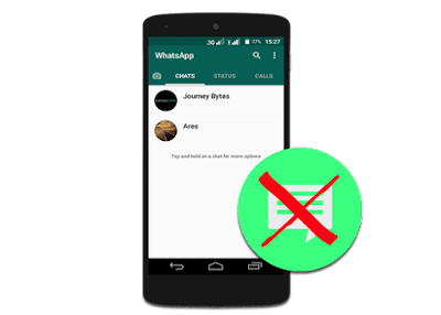 delete whatsapp conversation