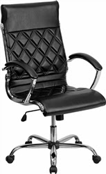 Retro Office Chair in Leather