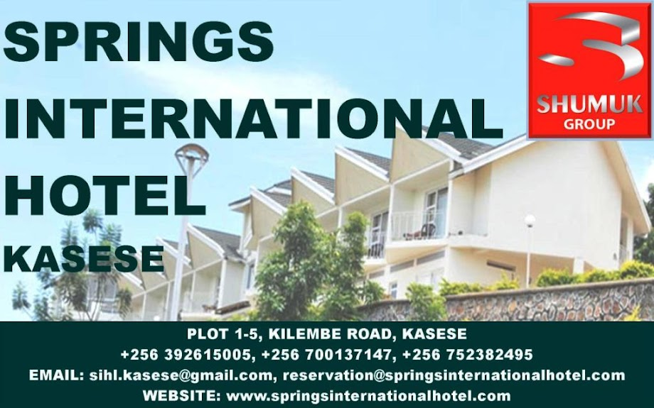 Springs International Hotel Kasese