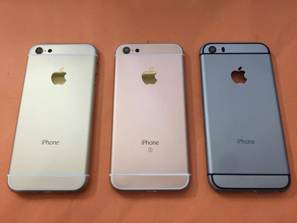 thay vo mau hong cho iphone 6