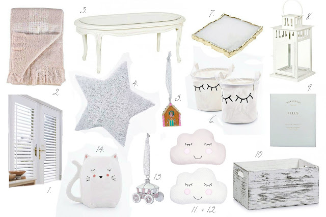 Shabby chic Christmas decor wish list