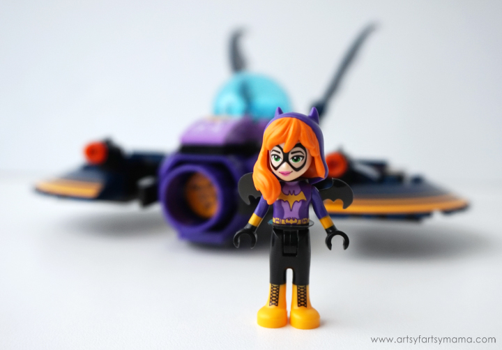 LEGO DC Superhero Girls Batgirl Batjet Chase and Free Printable DC Superhero Girls Bookmarks