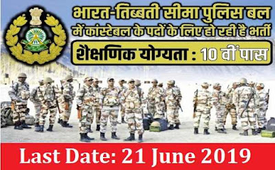 ITBP Recruitment for Constables
