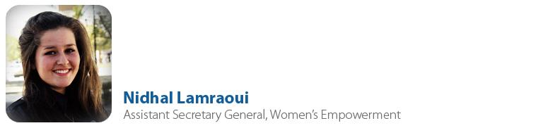 Nidhal Lamraoui, IYF Assistant Secretary General on Women's Empowerment