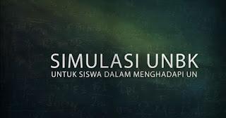 Simulasi UNBK 2018 untuk Siswa