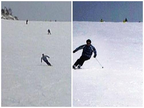 最後に滑ったのは2013年3月7日だった