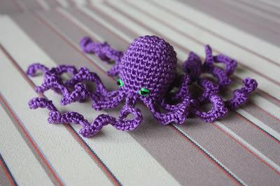 Amigurumi Octopus Tutorial : Happyamigurumi: Amigurumi Free Seamless Octopus Pattern ...