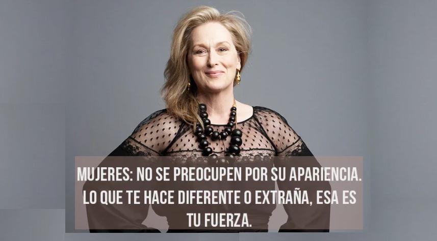 Meryl Streep 19 Maravillosas Reflexiones De Una Gran Mujer