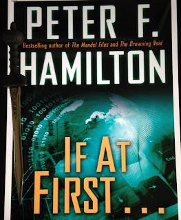 Portada del libro If At First... , de Peter F. Hamilton