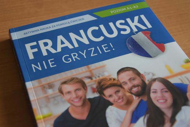 """Recenzje #19 - """"Francuski nie gryzie reedycja"""" + konkurs - okładka książki pt.""""Francuski nie gryzie reedycja"""" - Francuski przy kawie"""
