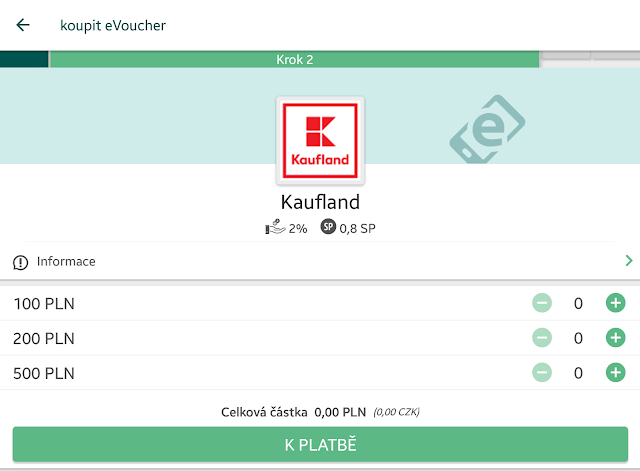 eVoucher Kaufland Polsko - Cashback World