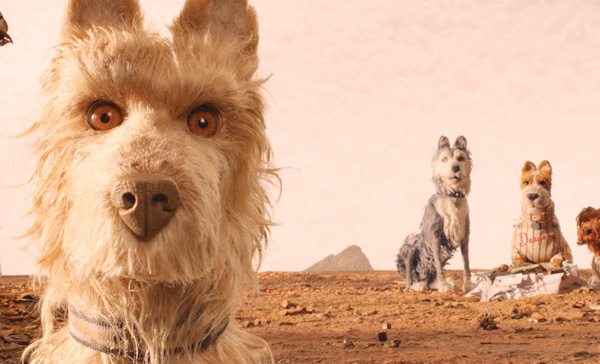 A scene from ISLE OF DOGS (2018)