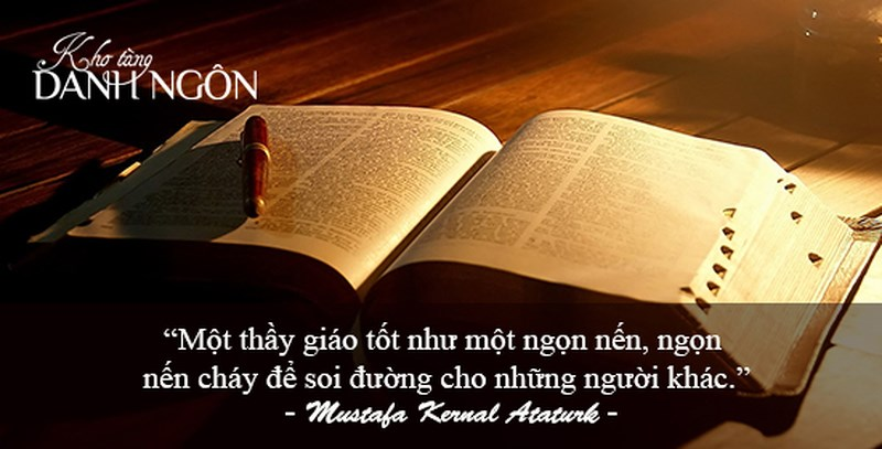 Danh ngôn về nghề giáo