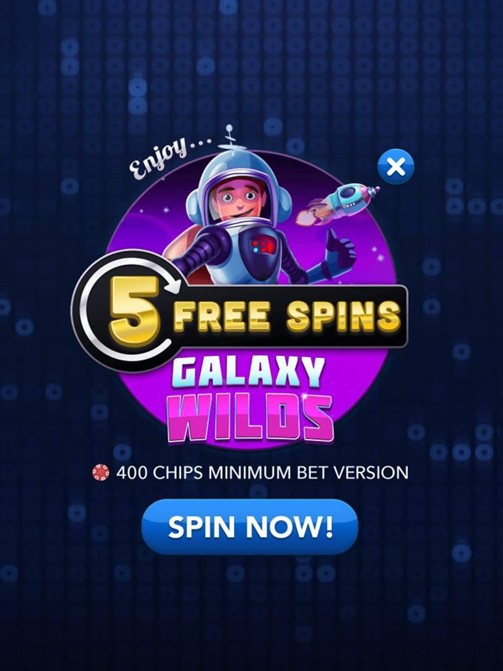 Big fish casino free spins today
