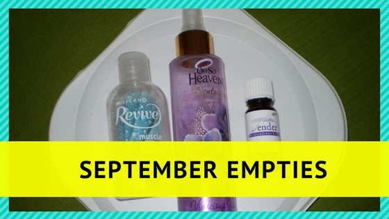 September empties |Lavender in Lavender Hil | Oh So Heavenly | Revivel