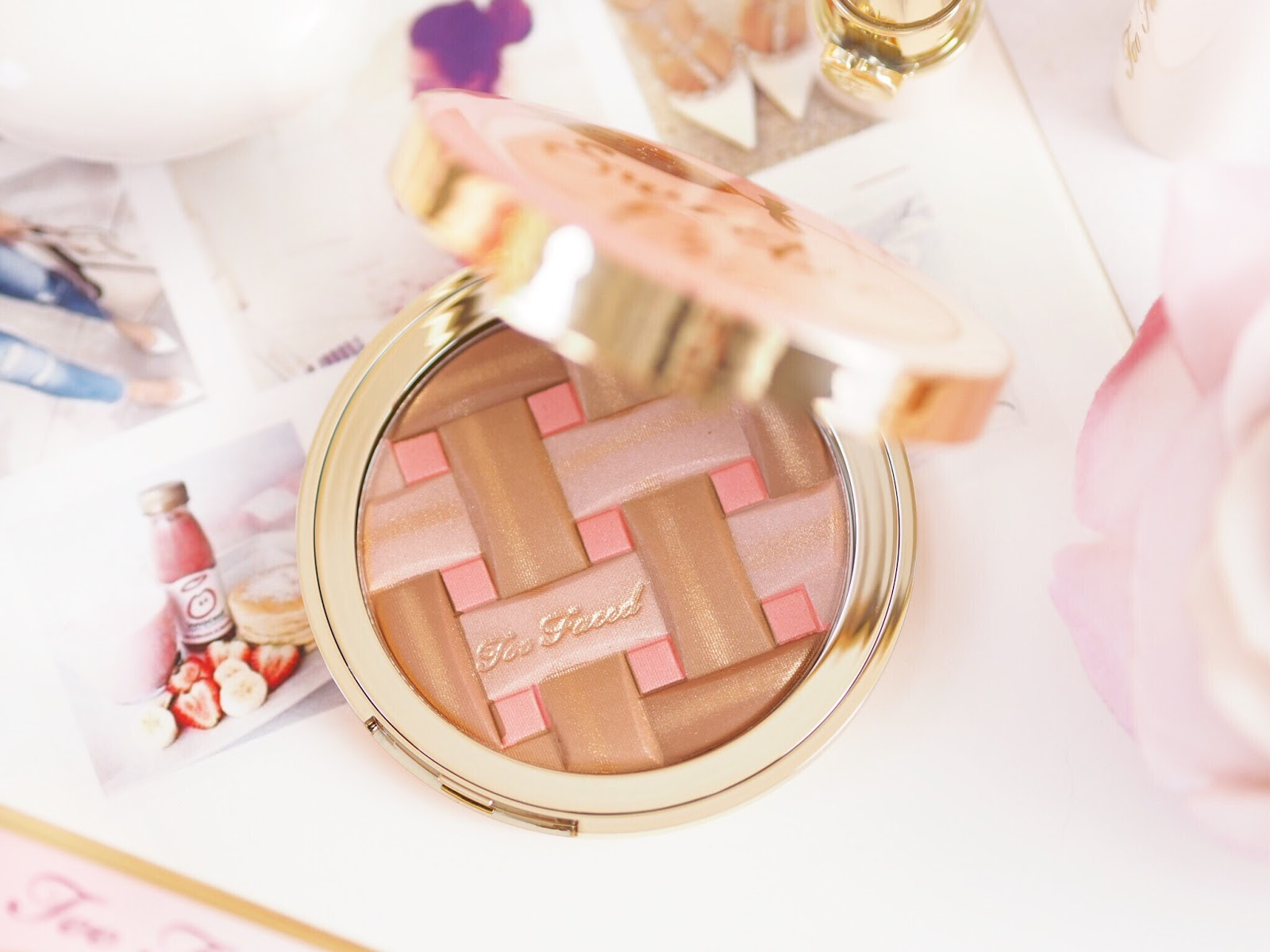 Too Faced, Sweetie Pie Bronzer, Too Faced review, highlighter review, blusher review, palette review, make-up review, make up review