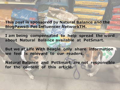 Natural Balance is available at your local PetSmart, and at PetSmart.com.