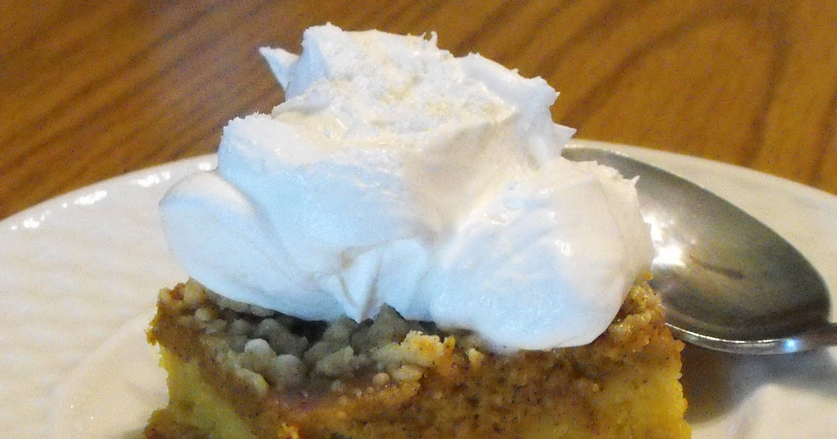 Pumpkin Pie Squares Recipe Yellow Cake Mix