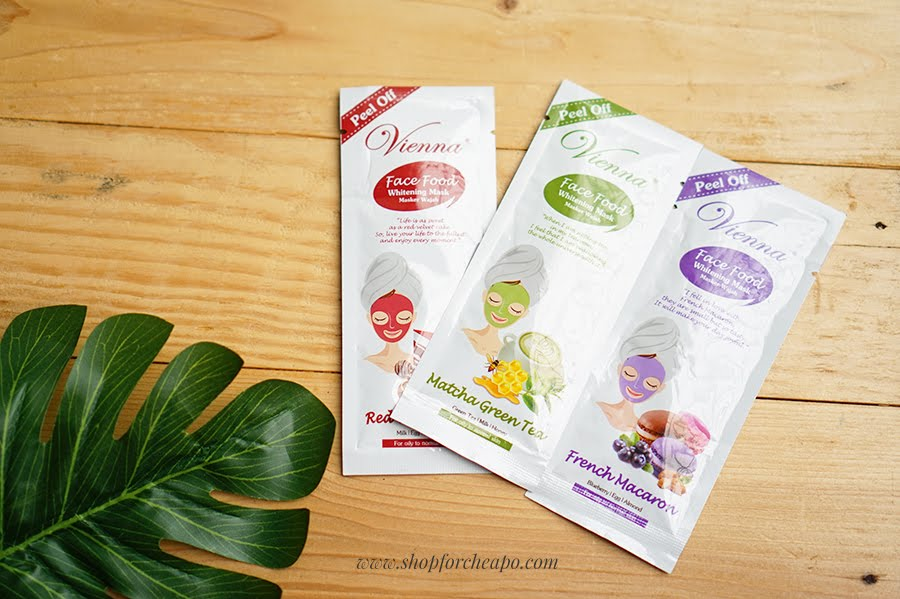 vienna face mask peel off