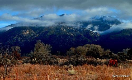 taos new mexico, taos mountain