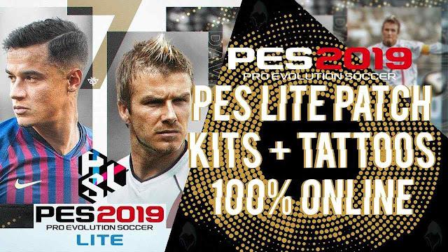 ultigamerz: PES 2019 (LITE) Full License Patch v3