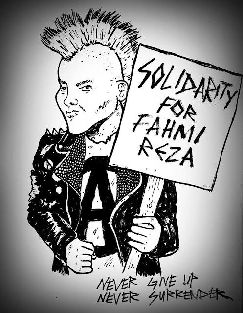 Solidariti Untuk FAHMI REZA!