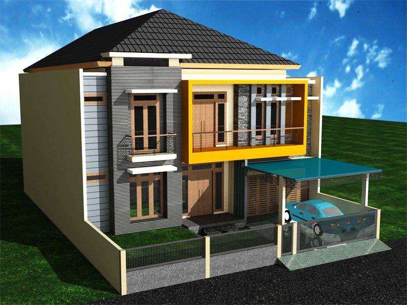 Gambar Desain Rumah Minimalis 2 Lantai Cantik