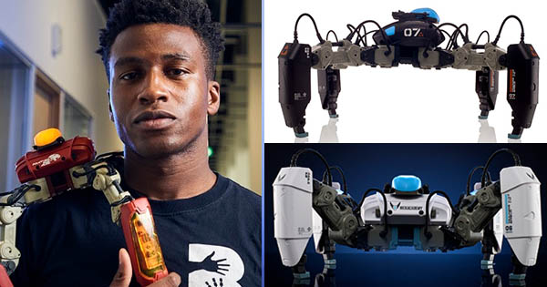 Silas Adekunle, CEO and founder of Reach Robotics