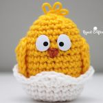 http://www.repeatcrafterme.com/2016/02/crochet-baby-chick.html