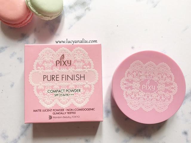 PIXY Pure Finishing Compact Powder shade Beige
