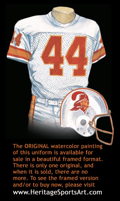heritage uniforms and jerseys nfl mlb nhl nba ncaa us colleges tampa bay buccaneers uniform and team history tampa bay buccaneers uniform