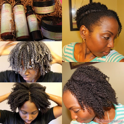 Flat Twist with Twistout Featuring Embrace The Natural You
