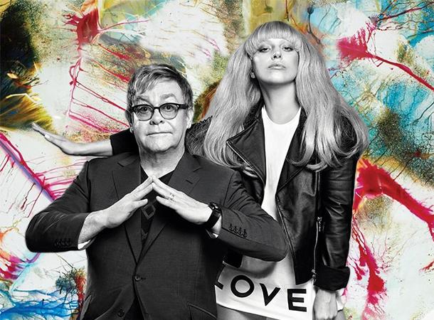 Lady Gaga & Elton John Team Up for Macy's Clothing Line