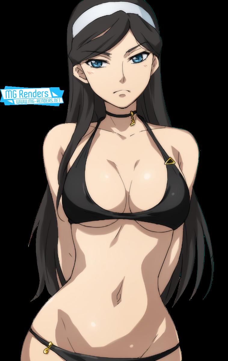 Tags: Anime, Render,  Kumashiro Maya,  Seikimatsu Occult Gakuin,  PNG, Image, Picture