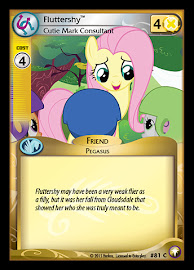 My Little Pony Fluttershy, Cutie Mark Consultant Equestrian Odysseys CCG Card