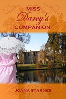 Book Cover: Miss Darcy's Companion by Joana Starnes