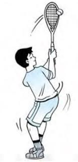 Pukulan chop tenis lapangan