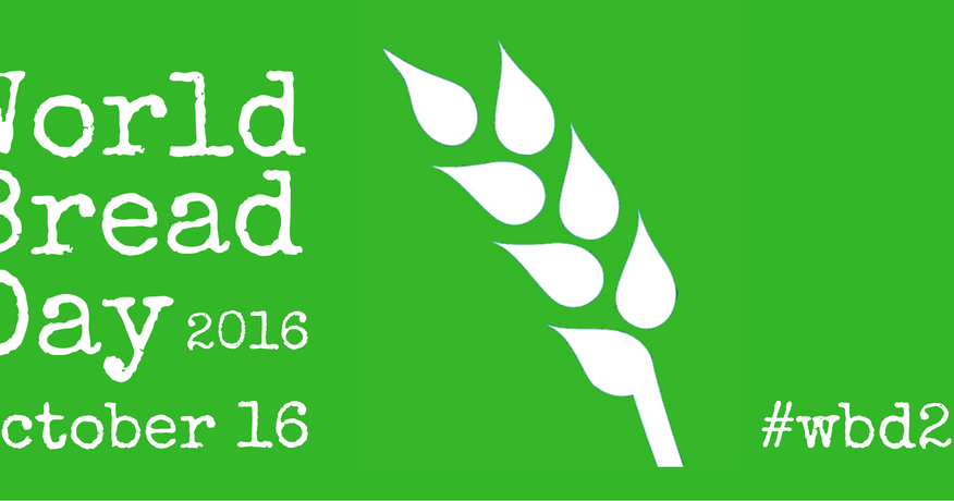 World Bread Day 2016 - Giornata Mondiale del Pane