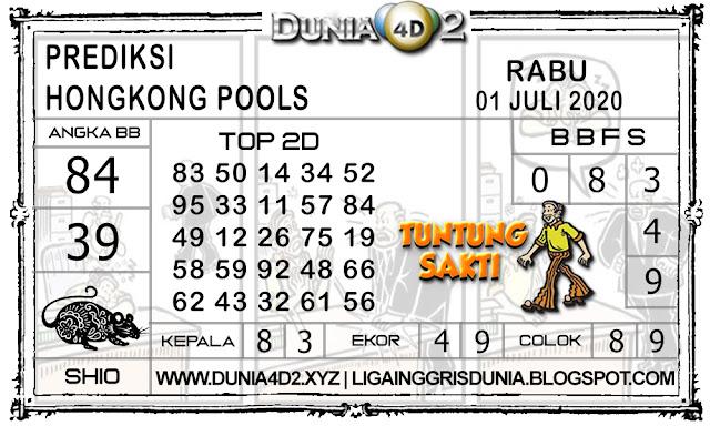Prediksi Togel HONGKONG DUNIA4D2 01 JULI 2020