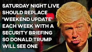 Trump SNL CIA