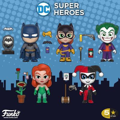 DC Comics Batman 5 Star Vinyl Figures by Funko