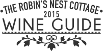 Robin's Nest Cottage 2015 Wine Guide