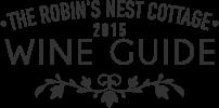 Robin's Nest Cottage 2015 Wine Guide