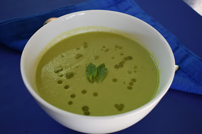 Pea soup in Thermomix