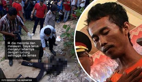 Video pengakuan dan gambar: Enggan bertanggungjawab, lelaki bunuh dan bakar mayat teman wanita hamil 6 bulan