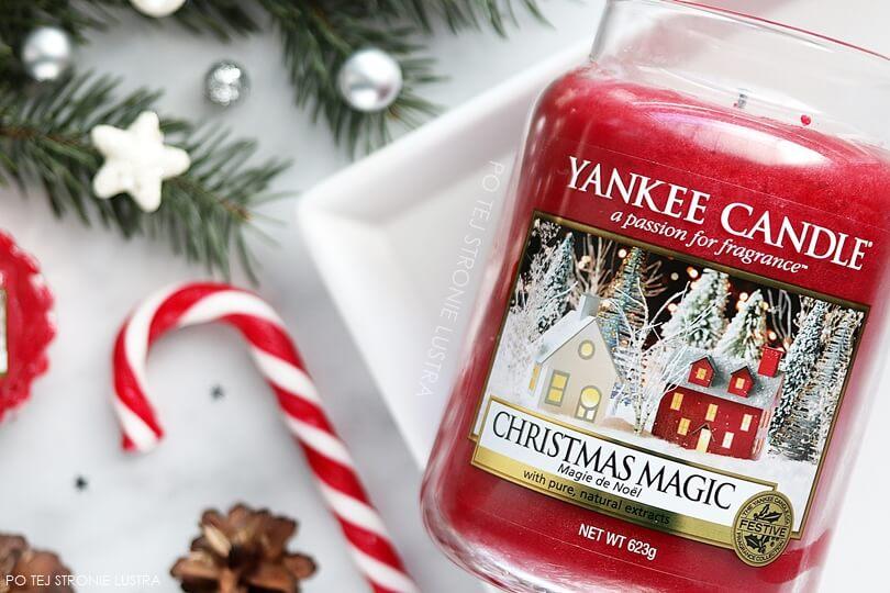 świąteczny zapach yankee candle christmas magic