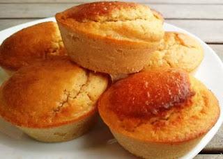 Muffins de limão low carb